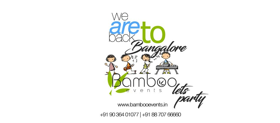 We are back to Bangalore